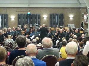Concert 8 nov 2015 De Brink. ism Arnehems Klarinetten koor.